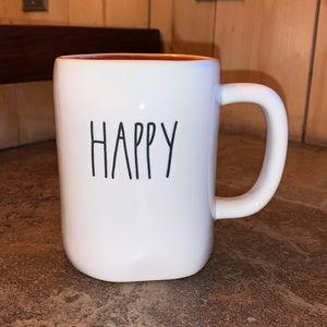"Rae Dunn 2 sided ""Happy Halloween"" Mug"